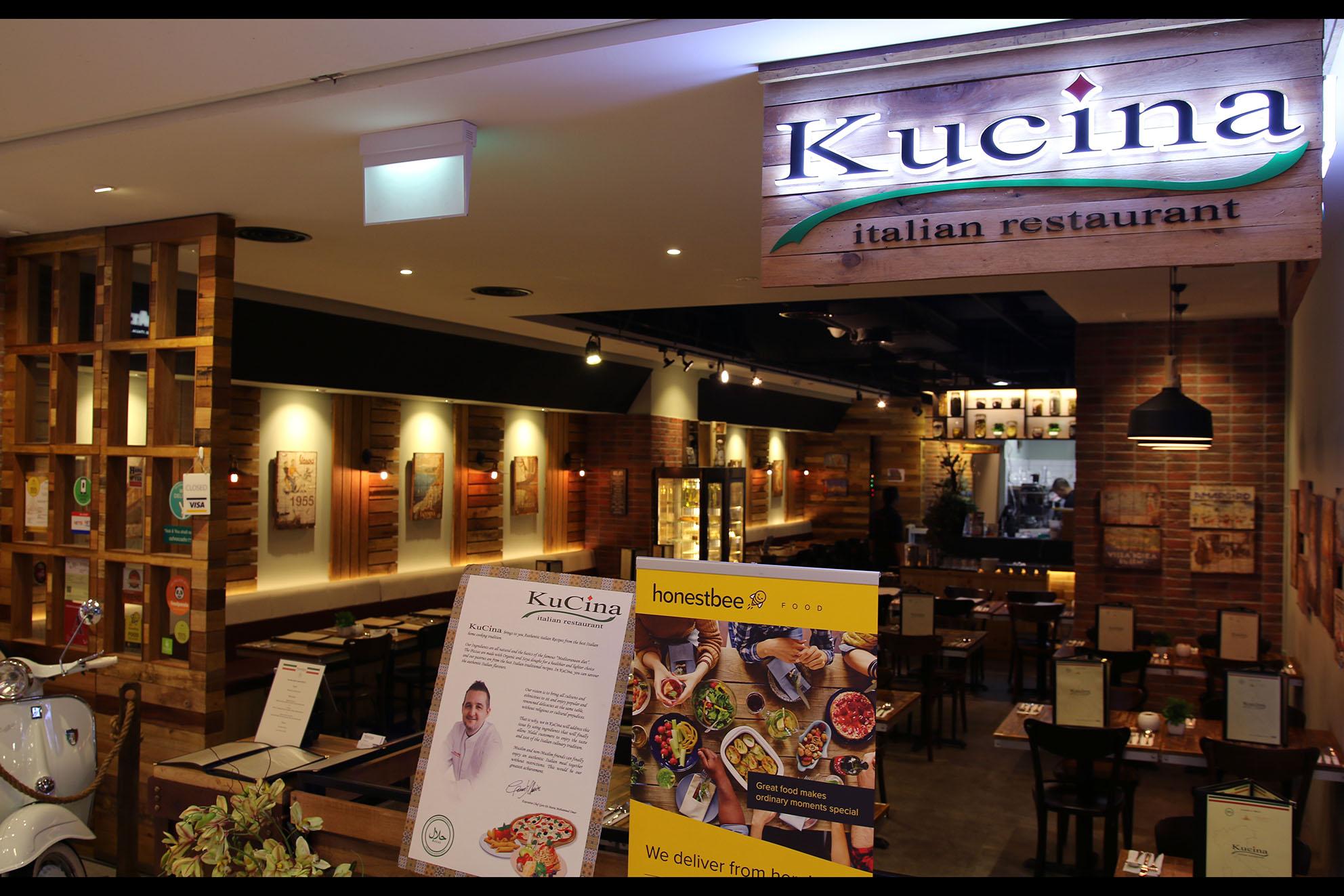 Under rated italian restaurant kucina italian restaurant for Chow chow restaurante