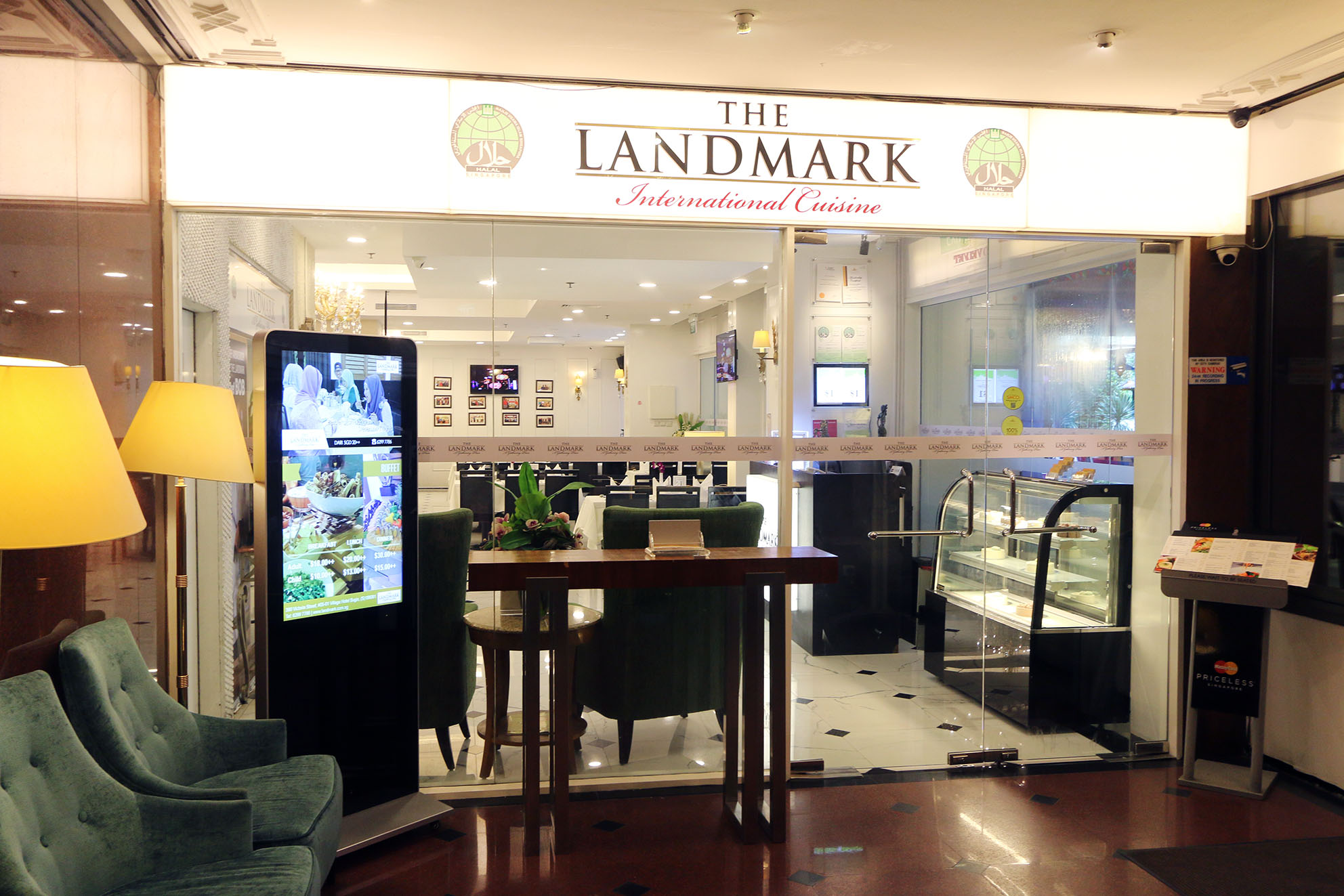 The landmark restaurant international buffet halal for Cuisine restaurant