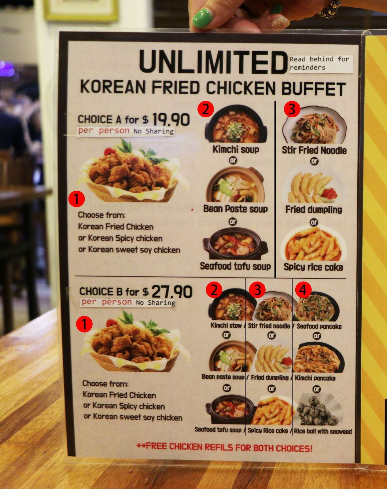 Korean Fried Chicken Buffet Seoul Kitchen Review Good Food Everyday